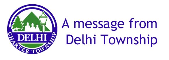 A Message from Delhi Township