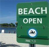 Beach open