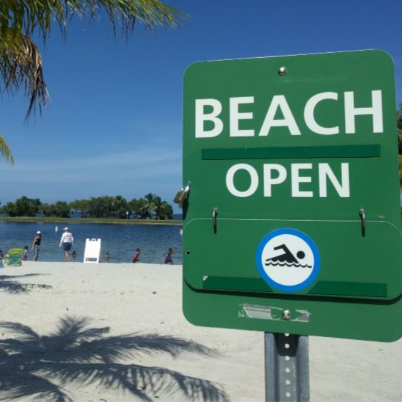 NewsFlash Beach open