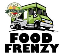 Food Frenzy logo with food truck