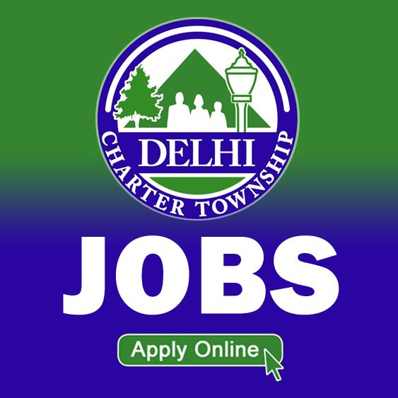 Picture of Twp logo with JOBS in white letters on blue and green background